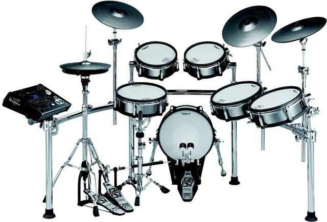 Electronic-drum-kit-roland