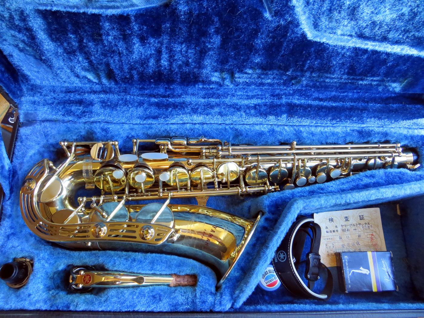 Альт саксофон Yamaha YAS-61