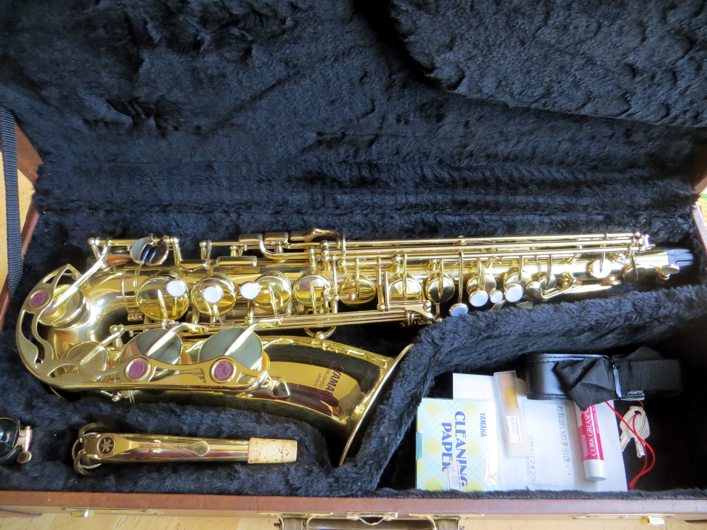 Альт саксофон Yamaha YAS-32